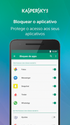 Kaspersky Mobile Antivirus: Segurança & AppLock