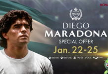 Maradona no PES 2018 Mobile