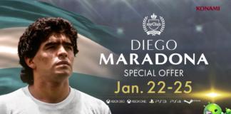 Maradona no PES 2018 Mobile