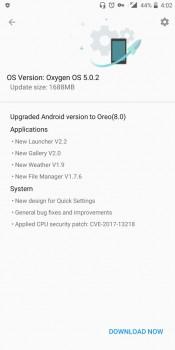 OnePlus 5T está recebendo a atualização para o Android Oreo