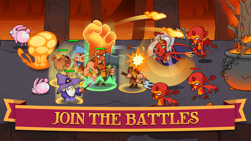 Semi Heroes: Idle Battle RPG