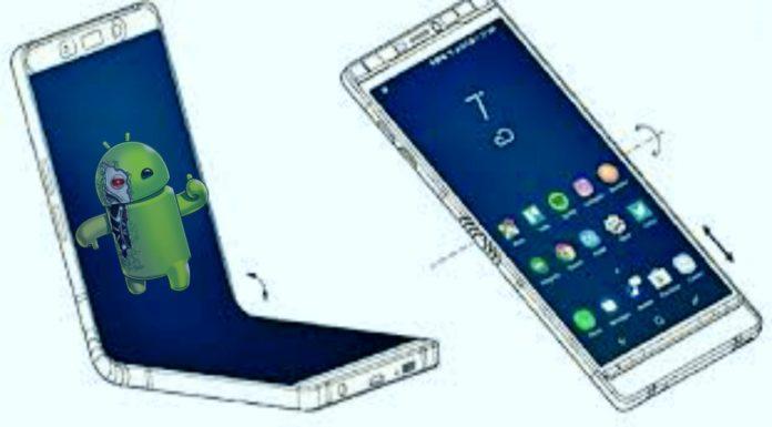 Smartphone Dobrável com Uma Única Tela