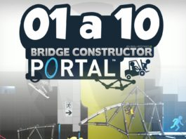Solução 01 a 10 Bridge Constructor Porta
