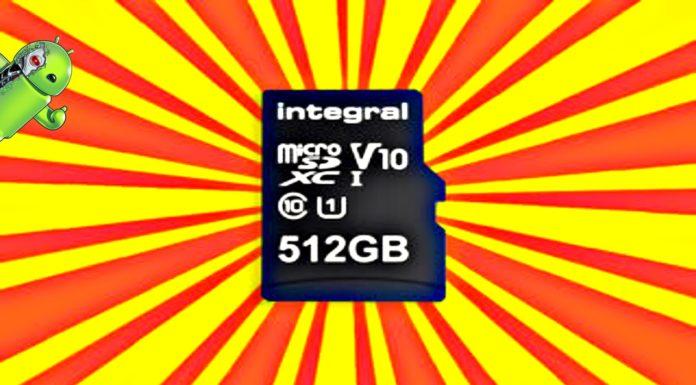 Cartão MicroSD de 512GB