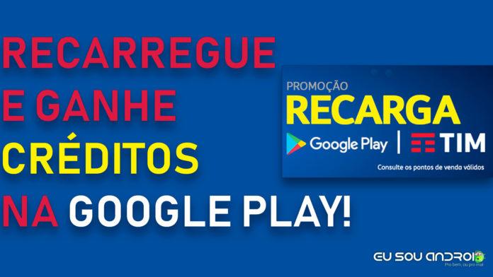 PROMOÇÃO: Ganhe R$10 na Play Store Apenas Fazendo Uma Recarga no Celular
