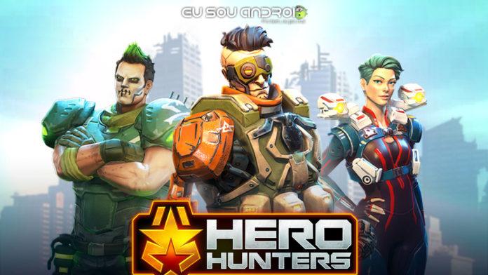 Conheça Hero Hunters - O Jogo Que Coloca Você no Comando de Um Esquadrão