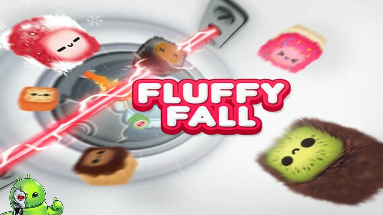 Fluffy Fall: seja rápido, desvie do perigo!