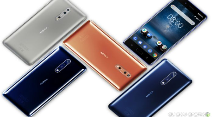 Nokia 8 e Nokia 3 Recebem atualização de Fevereiro