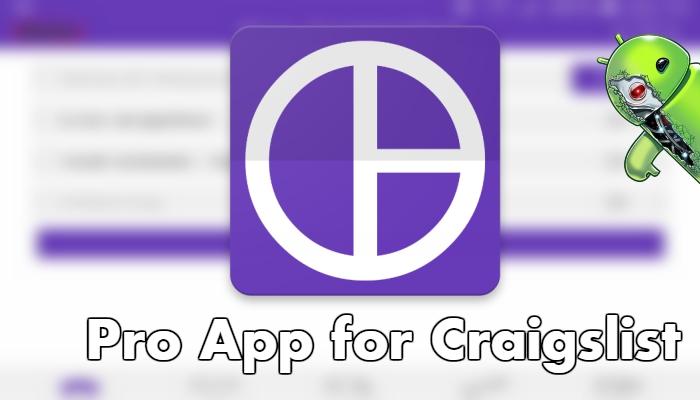 Pro App for Craigslist