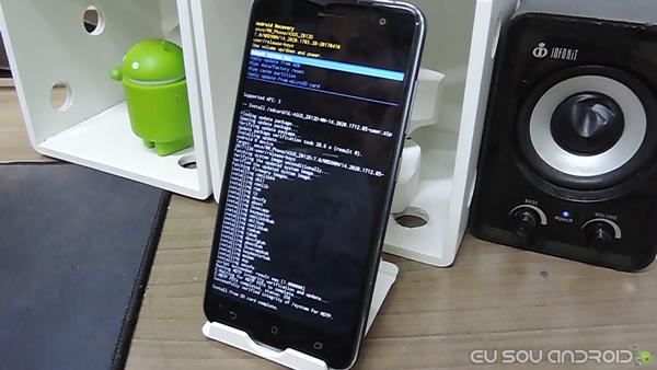 Recovery original zenfone 3 atualização bem sucedida android 7.0