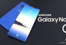 Samsung Galaxy Note9 Não Terá um Sensor de Impressão Digital