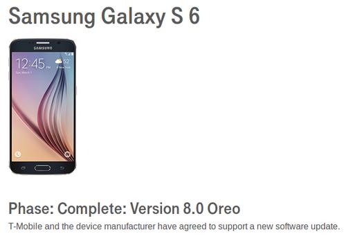 Samsung Galaxy S6 e S6 edge, S6 edge + e Note5 poderão receber o Android Oreo