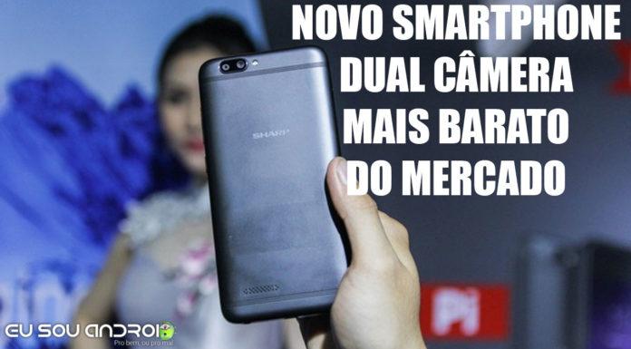 Sharp Pi - O Smartphone de Câmera Dupla abaixo de R$420,00