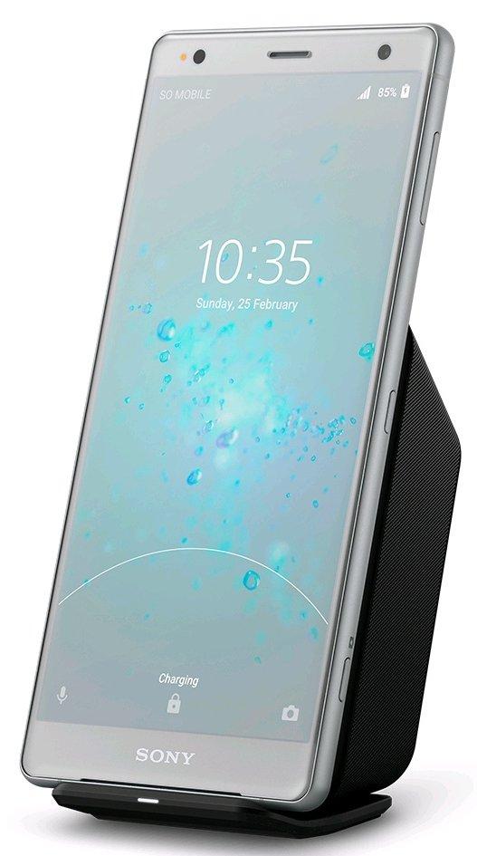 Sony Xperia XZ2 com Carregamento Sem Fio?