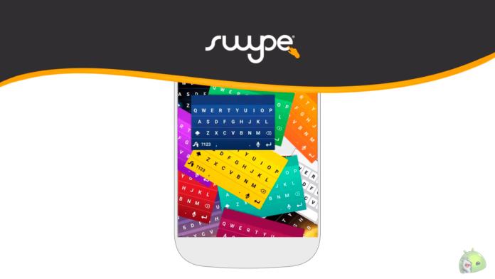 Teclado Swype - Eu sou android