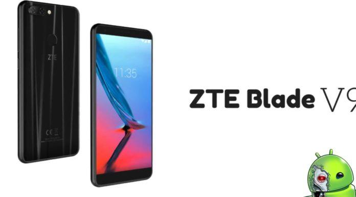 ZTE anuncia Blade V9 com tela 18: 9 e Snapdragon 450