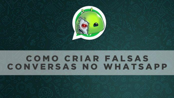 Como criar uma conversa falsa do WhatsApp