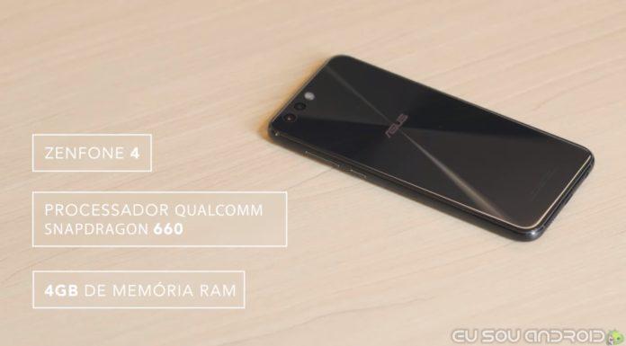 novo Zenfone 4 com Snapdragon 660 e 4GB de RAM