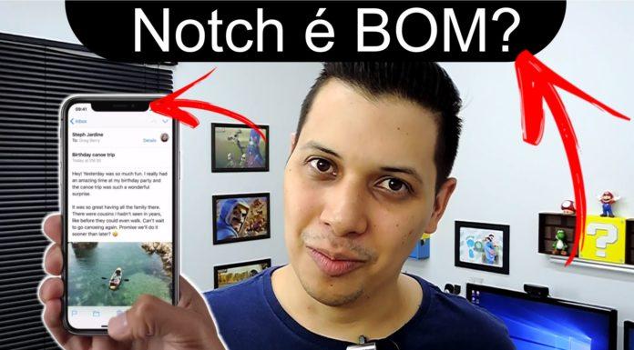 O que é Notch nos smartphones