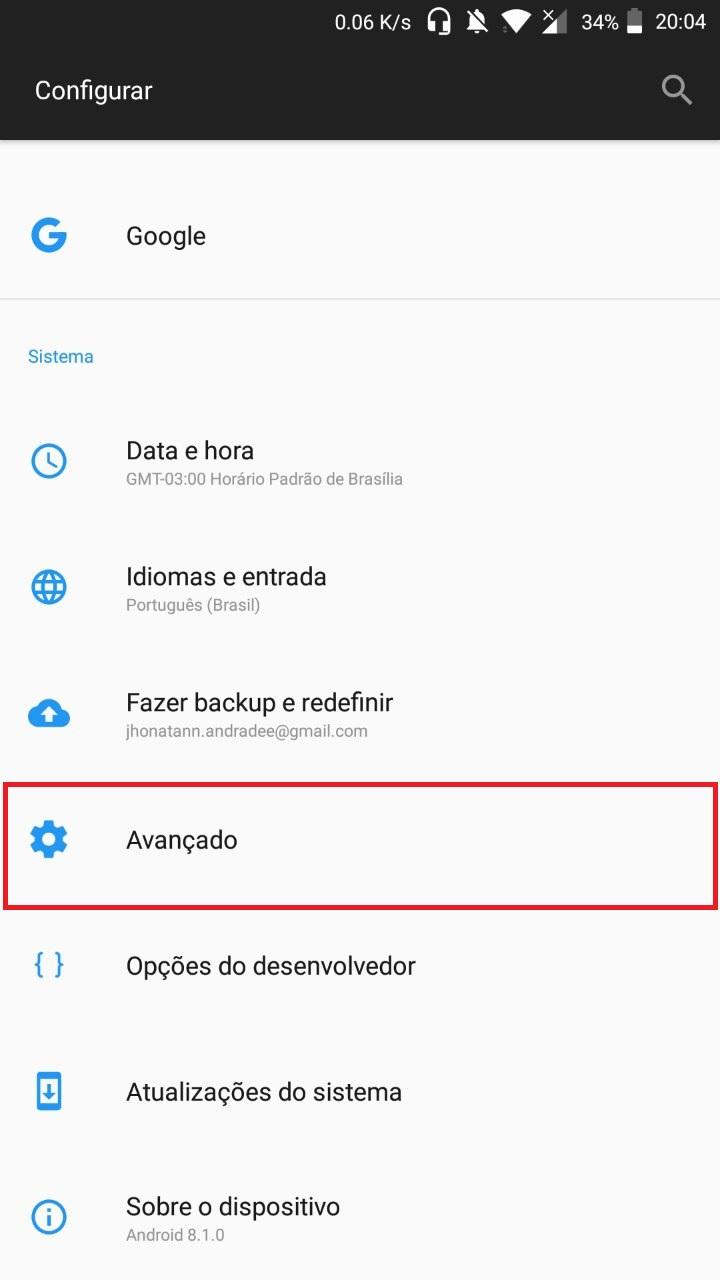 Como ativar o OTG no OnePlus