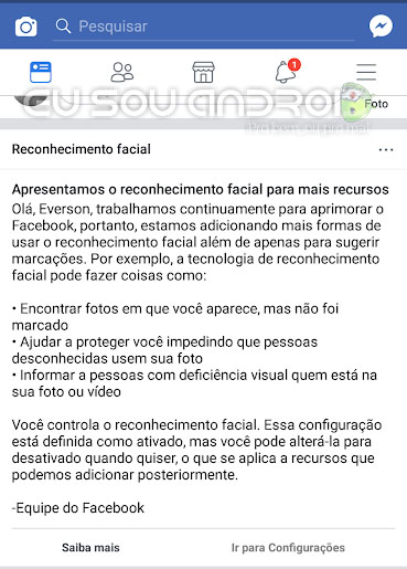 Facebook Utilizará Reconhecimento Facial Para Detectar Fraudes