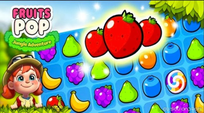 Fruits POP Jungle Adventure
