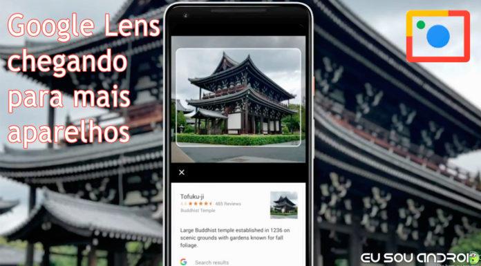 Google Lens Está Chegando Para Mais Dispositivos