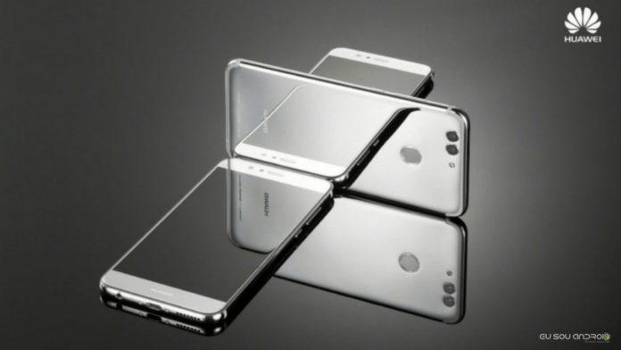 Huawei Preparando um telefone com 512 GB de armazenamento