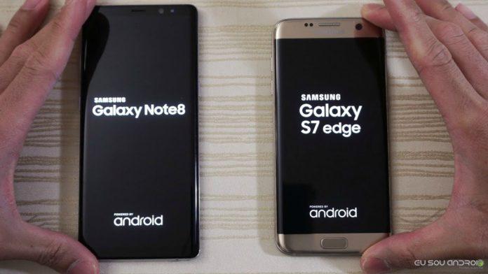 Lista datas de Atualização Para Galaxy Note8, S7