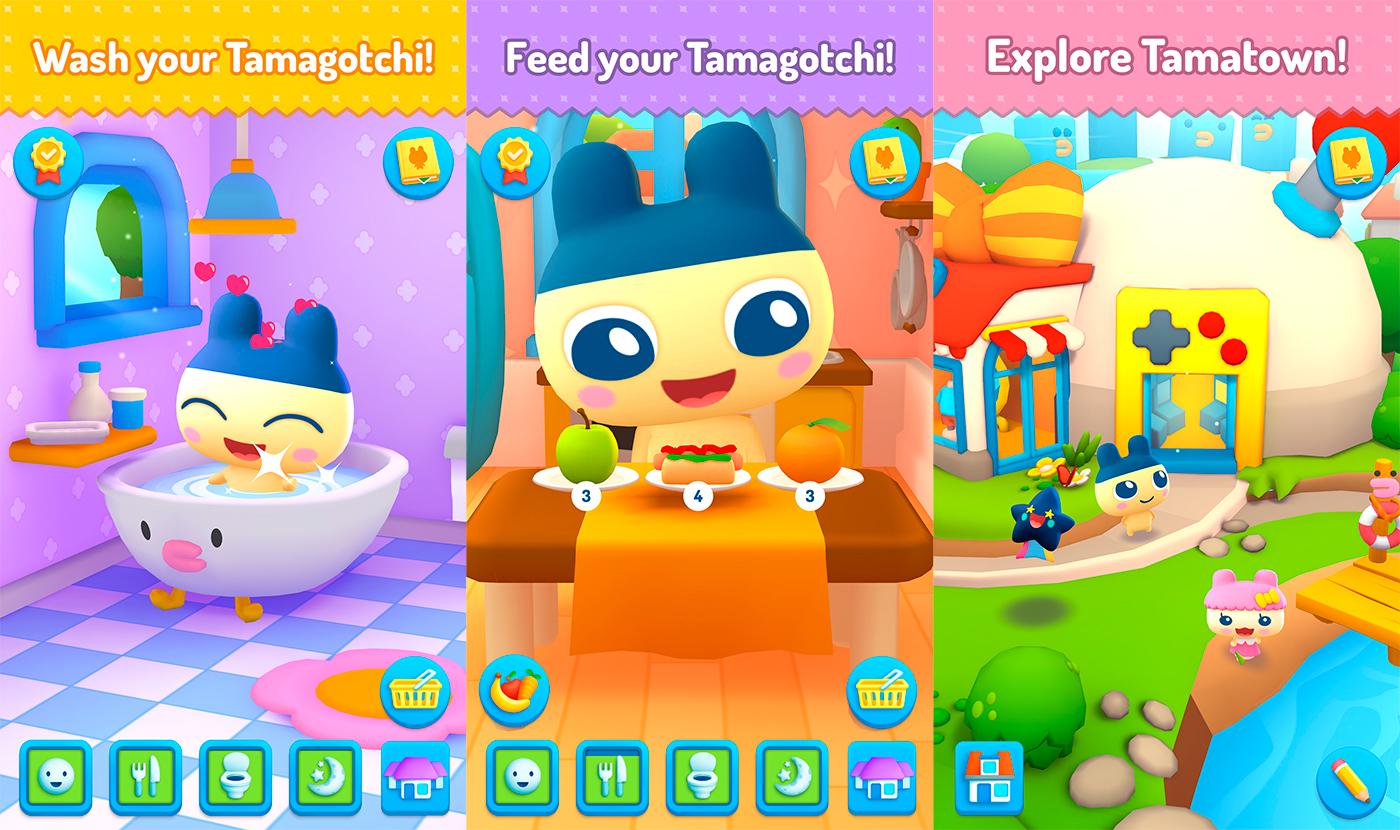 Novo Jogo do Tamagotchi Está em Pré-Registro na Google Play!