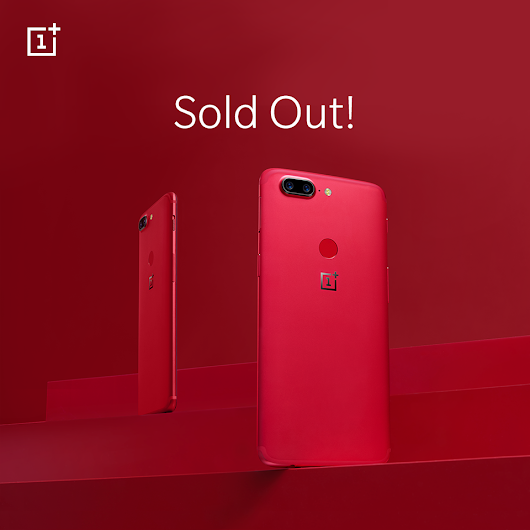 OnePlus 5T na América do Norte