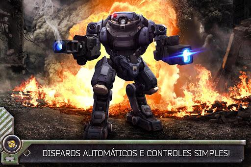 Robo de Guerra Online: 3D Tiro Shooter