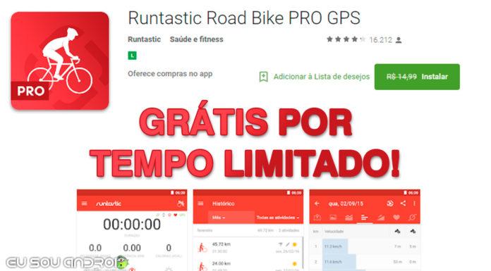Runtastic Road Bike PRO GRÁTIS POR TEMPO LIMITADO