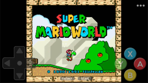 SNES Super Mari World - Comics Board and story