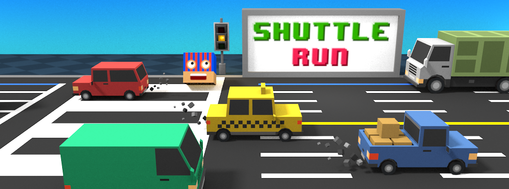 Shuttle Run - Cross the Street