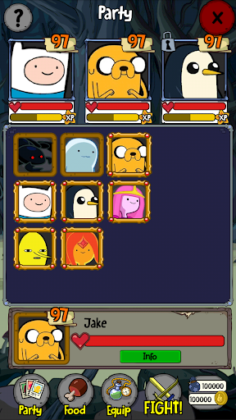 Adventure Time Puzzle Quest