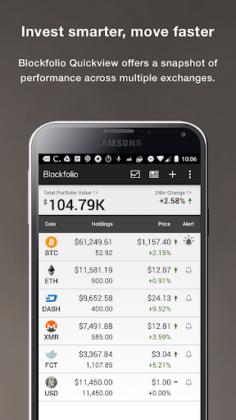 Blockfolio Bitcoin