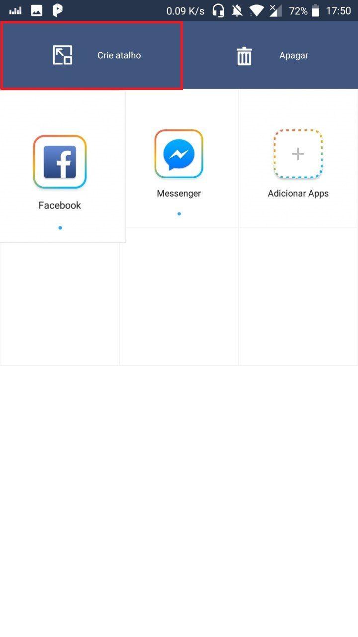 Clonar aplicativos ocupando pouco armazenamento