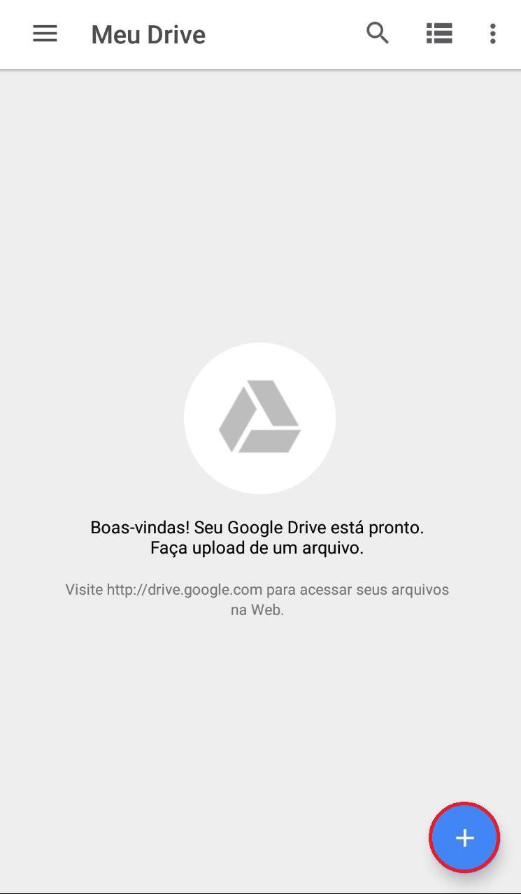 Como salvar seus arquivos no Google Drive