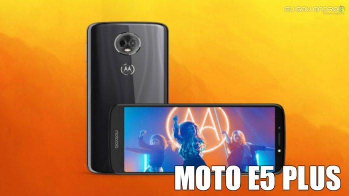 Moto E5 Plus Possui uma Bateria de 5.000 mAh