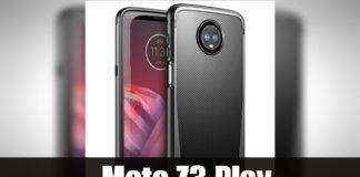 Moto Z3 Play Tem um Scanner de Impressões digitais Sobre a Tela?