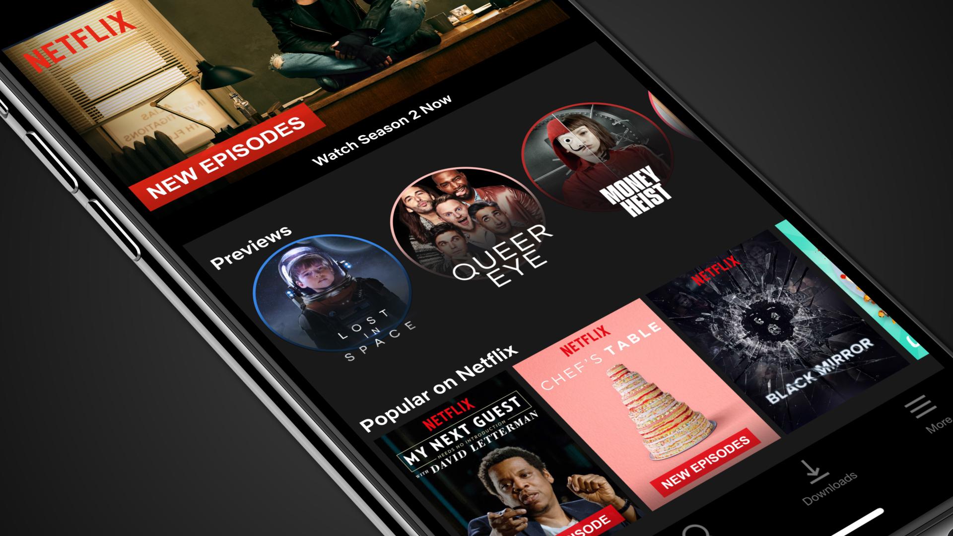 Netflix Irá Adicionar Pré-visualizações Para Dispositivos Móveis