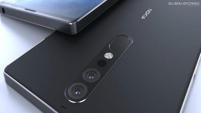 suposto vazamento do Nokia 9