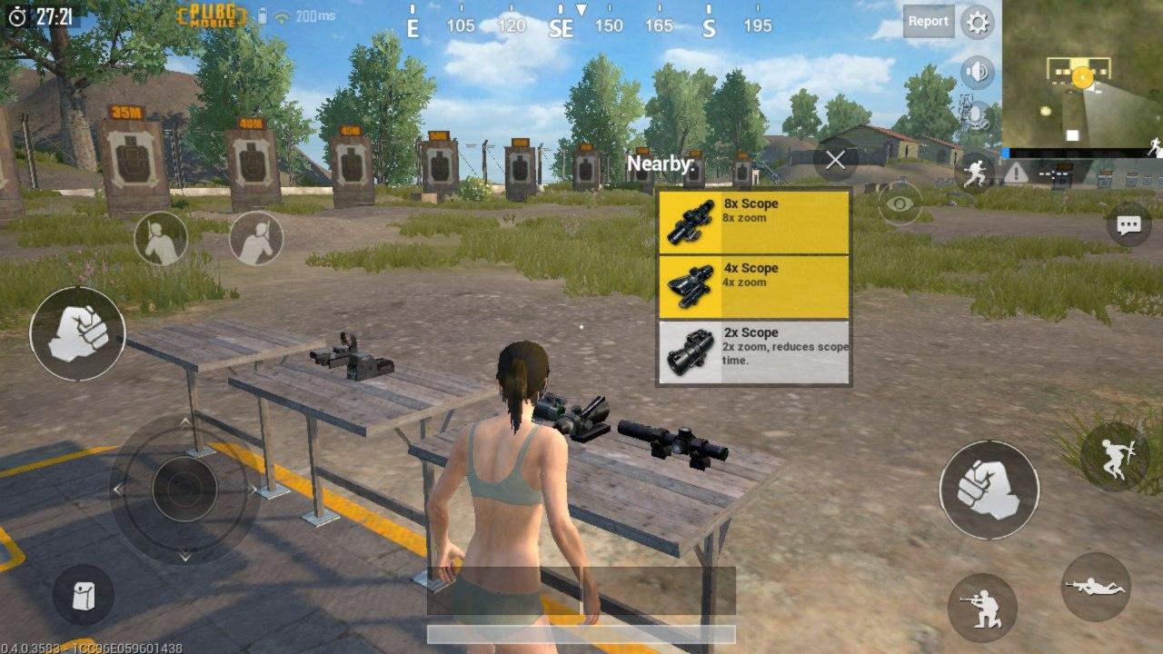 Nova versão de PUBG Mobile