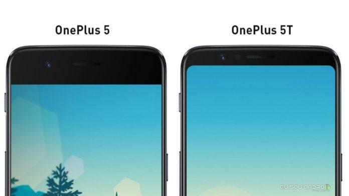OnePlus 5 e OnePlus 5T
