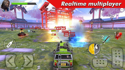 Overload: Multiplayer Battle Car Shooting Game