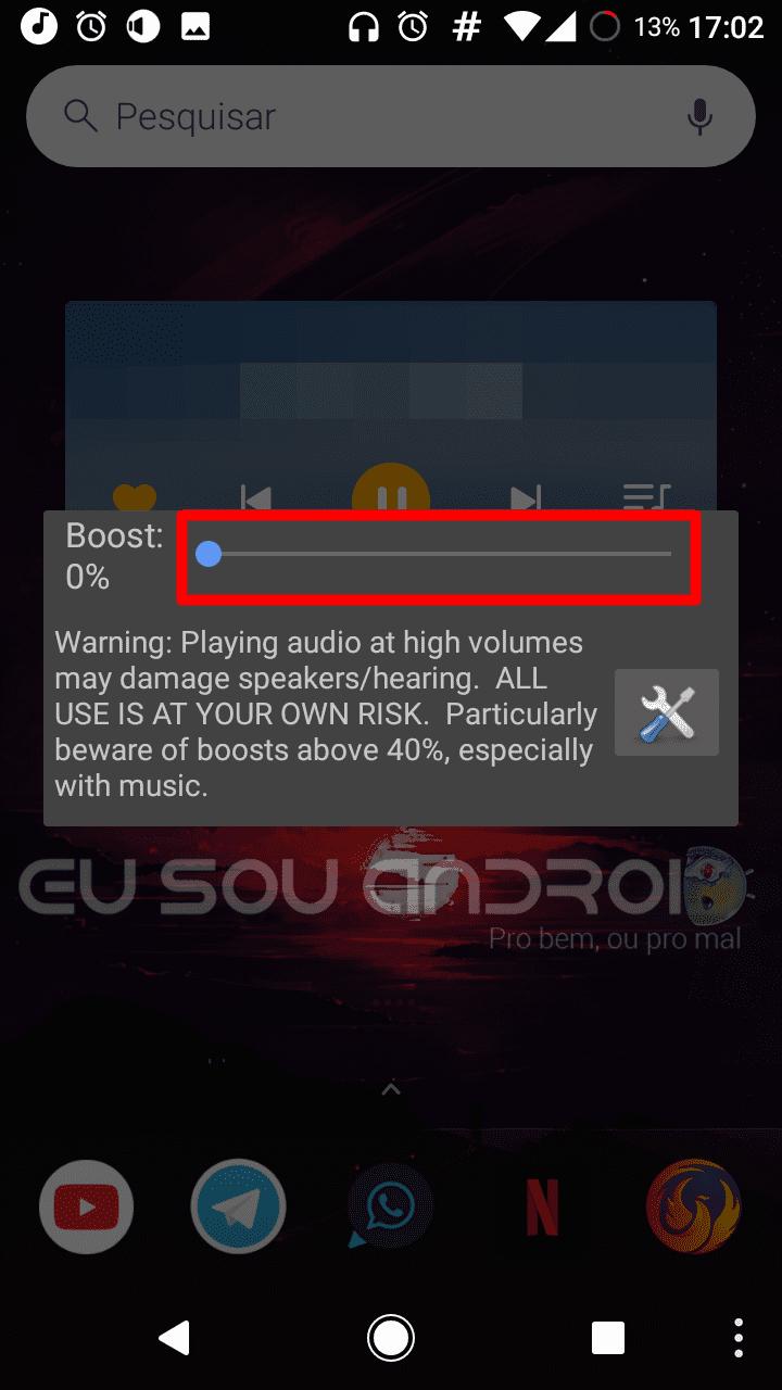 Comodeixar o volume do seu aparelho mais alto