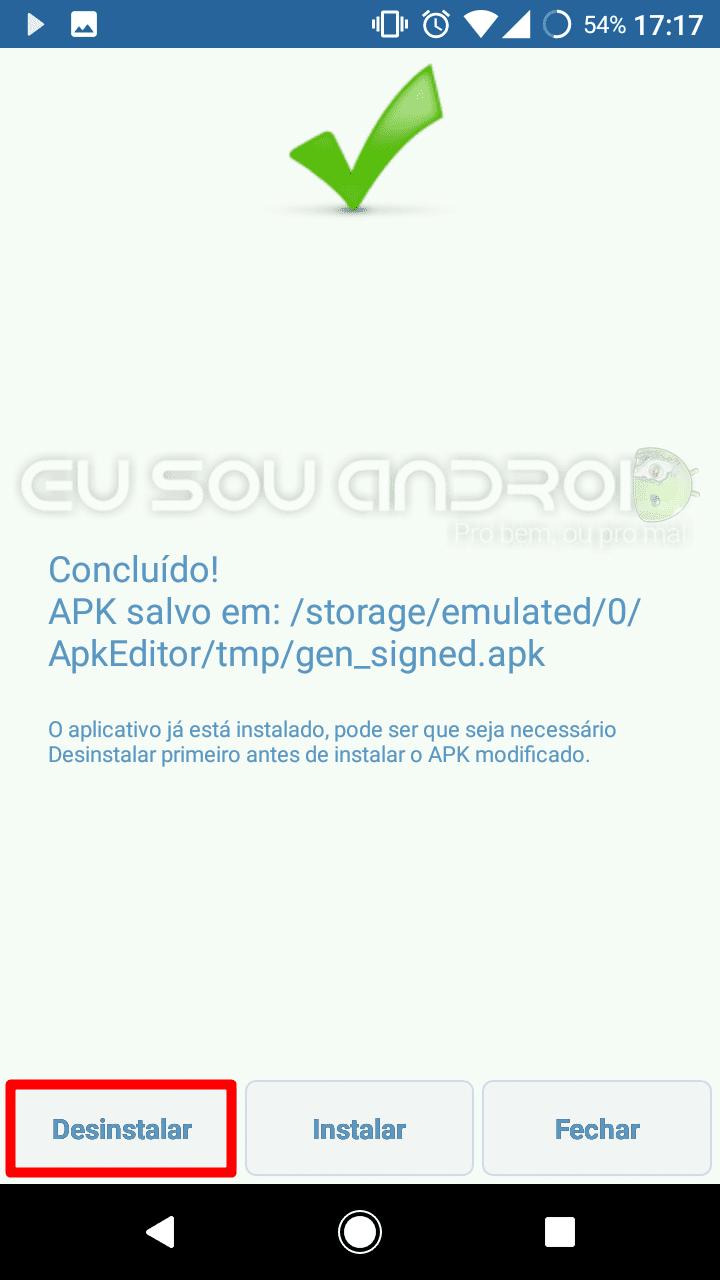 mover apps para o cartão SD