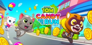 Talking Tom Candy Run Chegar OFICIALMENTE na Google Play
