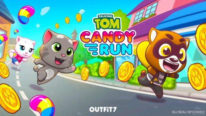 Talking Tom Candy Run Chegar OFICIALMENTE na Google Play